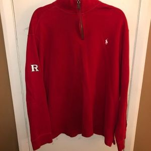 Polo Ralph Lauren LIMITED Rutgers Embroidered QZip